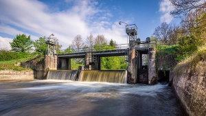Centrale hydraulique - Premier fournisseur d'électricité verte en France